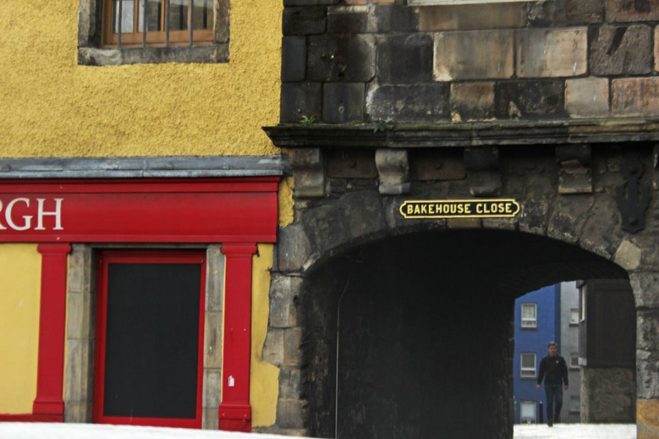 Edimburgo close