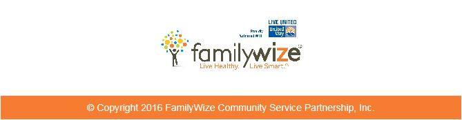 FamilyWize Footer