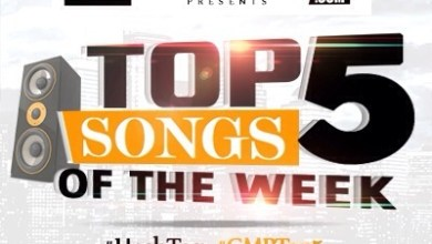 Photo of Top 5 Songs Of The Week! 2016 ~ WK16 | #GMPTOP5