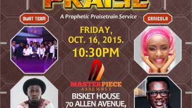 Photo of {Event} #PropheticPraiseTrain – 'WORKS OF PRAISE' Ft. Ernieola, Password & More | Friday, Oct 16th