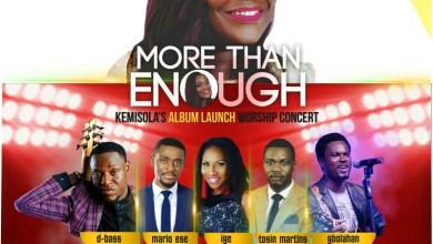 Photo of Event :: Kemisola's Album Launch Concert 'More Than Enough' | Jan 24 | @Kemjewel