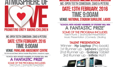 Photo of EVENT :: Teens Ambassador Nigeria presents Atmosphere for Love