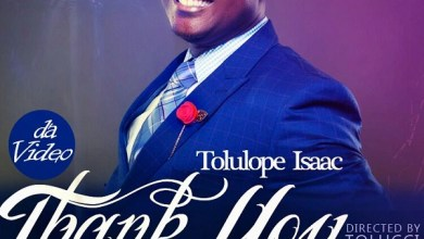 """Photo of MusiC VideO :: Tolulope Isaac – """"THANK YOU""""   @tolulopeisaac1"""