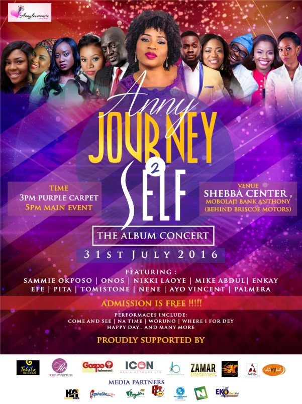 Anny Journey 2 Self Concert