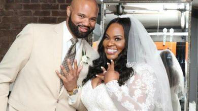 Tasha cobbs wedding photo