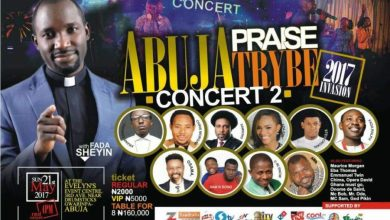 Photo of Win N200K As Plans Hit Top Gear For Abuja Praise Trybe Concert 2017 With Fada Sheyin!