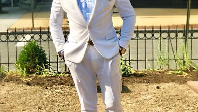 Photo of #GMPSundayFashion | Vibrant & Smart in White Suit – Clifton Ross III