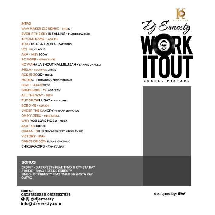 'Work It Out' with Dj Ernesty