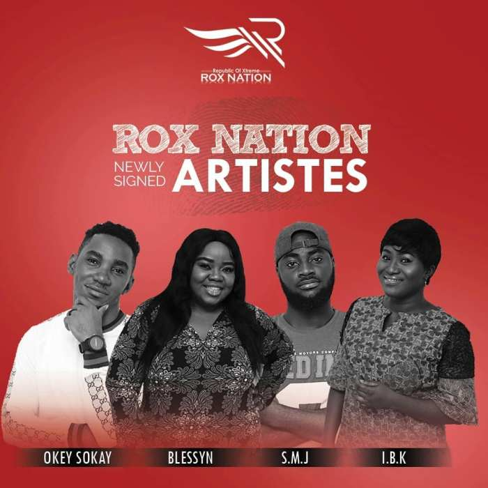 Rox Nation Signs 4 Artistes