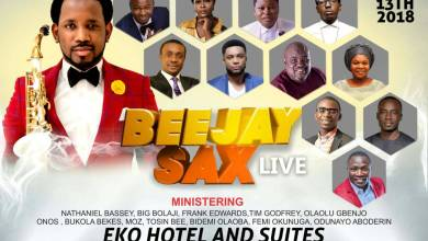 Photo of Star-Studded Line-up Unveiled for BeejaySax Live 2018