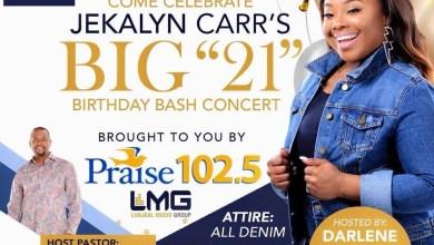 Jekalyn Carr Birthday Atlanta