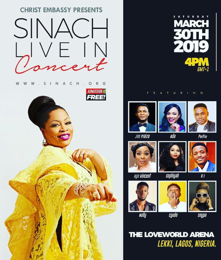 Sinach Live In Concert Lagos