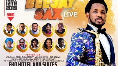 BEEJAY SAX LIVE 2019