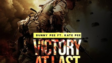 SunnyPee Victory at last cover art
