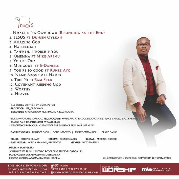 Osita Peter Tracklist