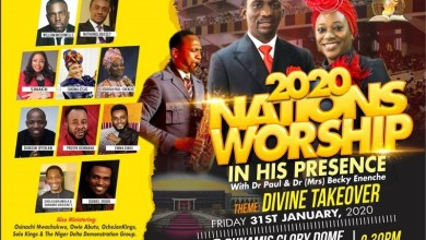 "Photo of William McDowell, Sinach, Others to Headline 2020 ""Nations' Worship"" at Dunamis Glory Dome"