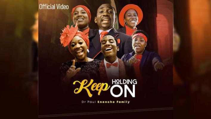 Keep holding on artwork dr paul Enenche