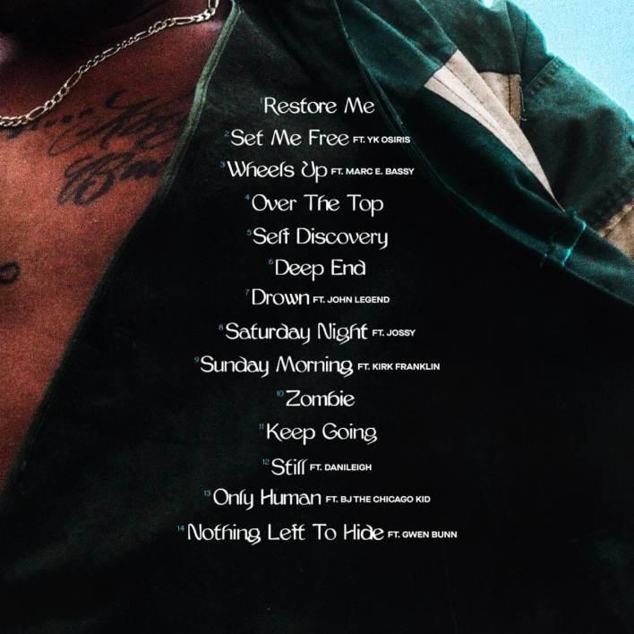 Lecrae Restoration Album (Tracklist)