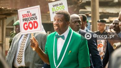 """Photo of Pastor Adeboye: """"I Support the Youths in this Peaceful Protest"""" #EndSARS"""