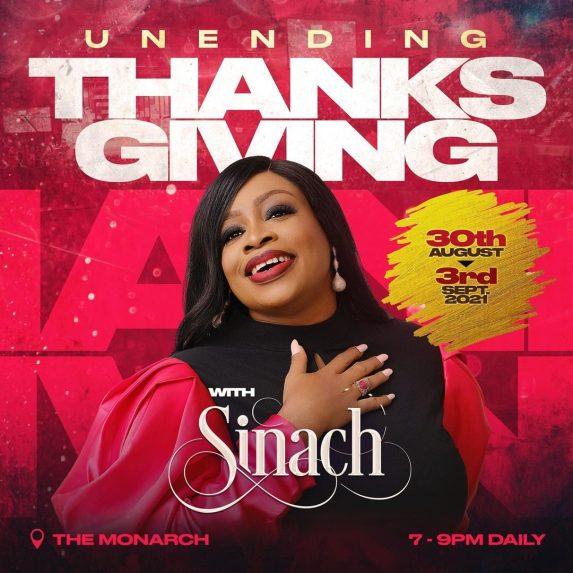 Sinach Uneding Thanksgiving Concert
