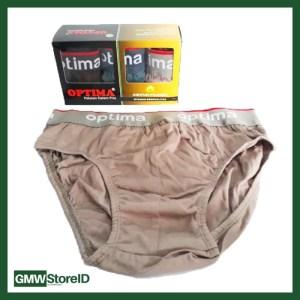 Sempak Celana Dalam CD Optima 1818 Size M Ban Karet Underwear W281
