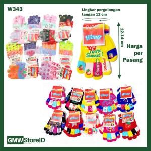 Kaos Tangan Wanita Model dan Motif Random Wooll Gloves FG805-13A W343