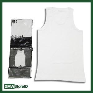 W455 Singlet Putih Pria Kaos Dalam Cowok Laki-Laki Agree Men Size XXL