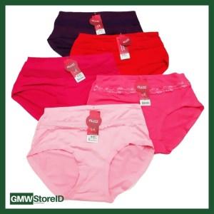 Celana Dalam Wanita Size Besar Renda Kain Minglanyazhi 0314-1-2 W327