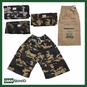 W528 Celana Army Laki-Laki Motif Warna Random Pria Berkantong Murah