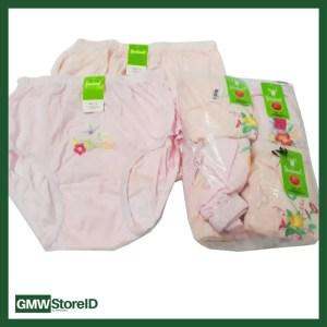 Celana Dalam Wanita CD Motip Bunga Bordil Size XL Underwear N647