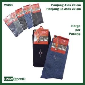 W383 Kaos Kaki Kerja Formal Dewasa Pria Tipe A01 - Men Socks Murah