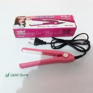 Catok Rambut Mini Topsonic Hair Care Haidi HD-768 W123