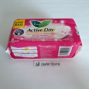 Laurier Active Day Super Maxi Non Wing Isi 8 W274