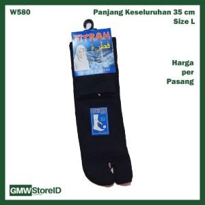 W580 Kaos Kaki Wanita Antislip Jari Jempol Pendek Women Socks Tipe E20
