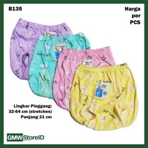 B135 Celana Dalam Bayi Pop Warna Motif Gambar Sablon CD All Size SNI