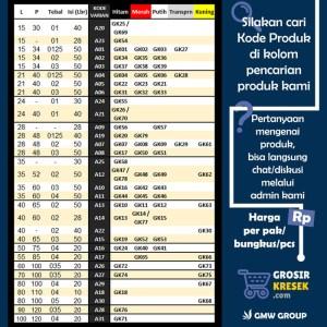 GL16 Grosir Kantong Kresek Shopping Bag Plong Random 25x29x03 100 lbr