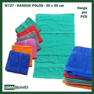 W727 Handuk Polos 30x50cm Kecil Warna Warni Murah Bath Towel Cloth