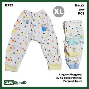 B132 Celana Panjang Bayi Size XL Motif Polkadot Baby Pants Unisex SNI