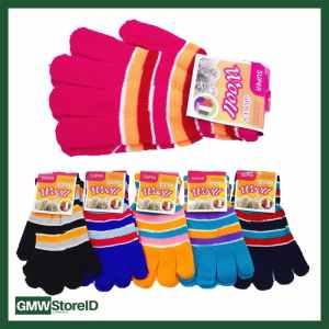 W598 Sarung Tangan Pria Unisex Warna Warni Color Gloves Keren Tipe B05