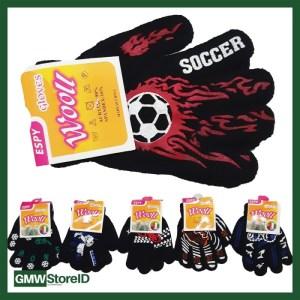 W552 Sarung Tangan Medium Cowok Laki Tipe B03 Gloves Men Motif Murah