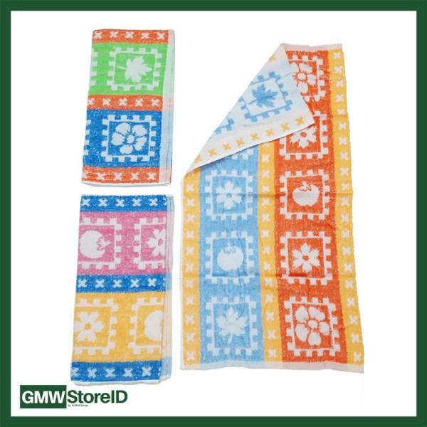 W387 Handuk Mandi Dewasa Murah Ukuran Sedang Tipe H02 - Towel Motif
