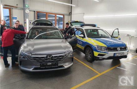Osnabrück: Polizei testet Wasserstoff-Antrieb