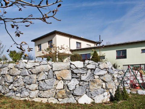 steinmauern im garten natur-stein-mauern & garten-gestaltung   gnant: ihr experte