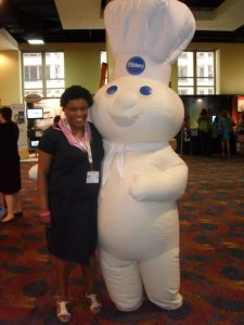 Me with the Pillsbury Dough Boy