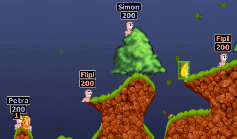 Worms Screenshot
