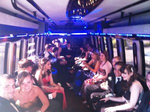GNG Limo Bus Inside