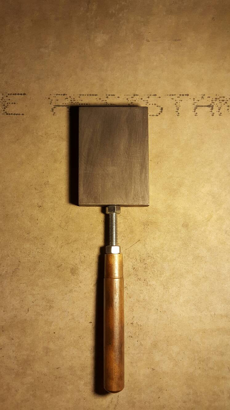This is our Graphite Hand Paddle