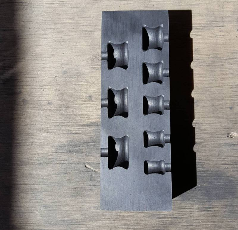 This is a graphite gauge mold