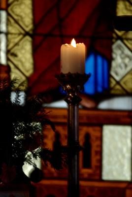 Kerzenschein auf dem Gnitz / Usedom