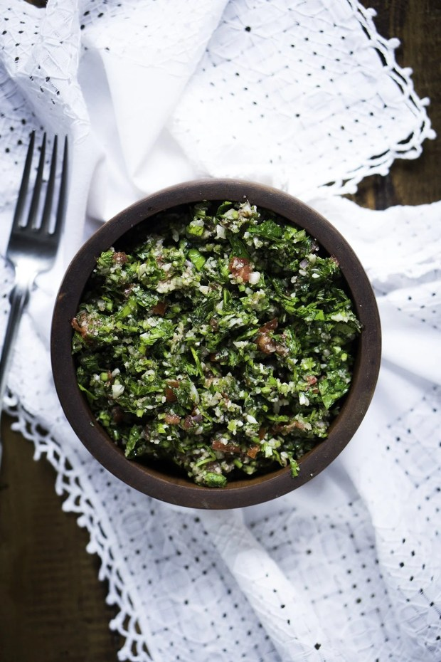 Ketogenic Tabbouleh Recipe